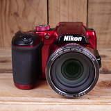 Used Nikon Coolpix B500 Red Digital Camera