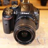 Used Nikon D5300 D-SLR Camera with AF-P 18-55mm VR G Lens