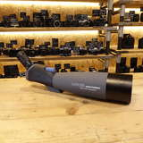 Used Dorr Danubia Rain Forest 100mm Angled Spotting Scope with Zoom 22-67x Eyepiece and Case