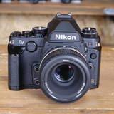Used Nikon Df Black DSLR Camera Kit with 50mm F1.8 Ltd Lens