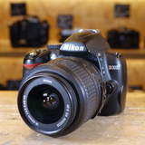 Used Nikon D3000 D-SLR Camera and 18-55mm VR Lens