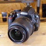 Used Nikon D3100 Digital SLR with AF-S 18-55mm VR Lens