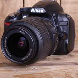 Used Nikon D3100 Digital SLR with AF-S 18-55mm G VR Lens