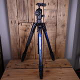 Used Manfrotto Befree AluTripod Kit MKBFRTA4BL-BH