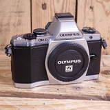 Used Olympus OM-D E-M5 Silver Camera Body