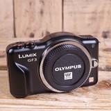 Used Panasonic Lumix GF3 Black Camera Body