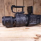 Used Sony NEX FS-700R E Mount Video Camera with 18-200mm OSS Powerzoom Lens