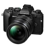 Olympus E-M5 Mark III | 12-40mm Pro Kit | 20.4 MP | Live MOS Sensor | 4K Video | Black
