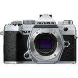 Olympus E-M5 Mark III | 20.4 MP | Live MOS Sensor | 4K Video | Wi-Fi | Silver