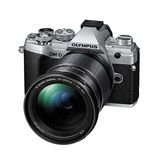 Olympus E-M5 Mark III | 12-200mm Kit | 20.4 MP | Live MOS Sensor | 4K Video | Silver