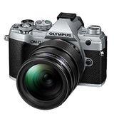 Olympus E-M5 Mark III | 12-40mm Pro Kit | 20.4 MP | Live MOS Sensor | 4K Video | Silver