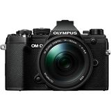Olympus E-M5 Mark III | 14-150mm Kit | 20.4 MP | Live MOS Sensor | 4K Video | Black