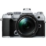 Olympus E-M5 Mark III | 14-150mm Kit | 20.4 MP | Live MOS Sensor | 4K Video | Silver