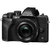 Olympus OMD EM10 Mark IV Camera with 14-42mm EZ Lens - Black