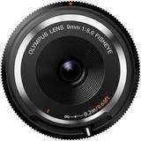 Olympus 9mm f8 Fisheye Black Body Cap Lens