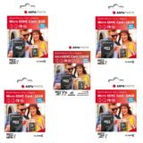 AgfaPhoto Micro SDHC UHS-1 Memory Cards with Adapter