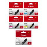 Canon CLI-551XL Ink Cartridges