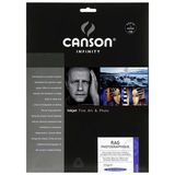 Canson Infinity Rag Photographique 210gsm Photo Paper - Acid Free - 100% Cotton