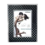 Silverstar Monza Black and Silver Photo Frame