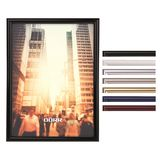 New York Plastic Photo Frame - Glass Front - Cheap Photo Frames in all Colours and Sizes