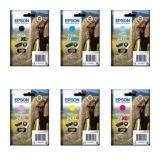 Epson T243 'Elephant' XL Ink Cartridges
