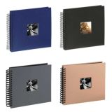 Spiral Photo Albums | 25 Pages | 50 Sides | 28 x 24 cm