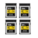 Lexar CFExpress Type B Memory Cards   128GB / 256GB / 512 GB   1750MB/s Read   1000MB/s Write