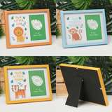 Jungle Baby Paperwrap Photo Frame Collection - 6x4 inch - Lion Tiger Monkey