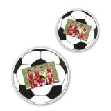 Football Photo Frame | Glass Front | Stands