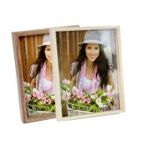 Zurigo MA Photo Frame | High Quality Wood | Hangs or Stands