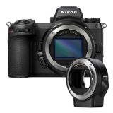 Nikon Z7 II with FTZ Mount Adapter | 45.8 MP | CMOS Sensor | 4K Video | Wi-Fi
