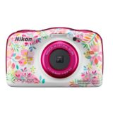 Nikon Coolpix W150 | 13.2 MP | Waterproof | 3x Optical Zoom | Full HD Video | Bag Kit | Flowers