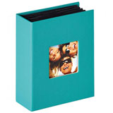 Walther Fun Petrol Green Slip In 6x4 Photo Album - 100 Photos Overall Size 6.5x5